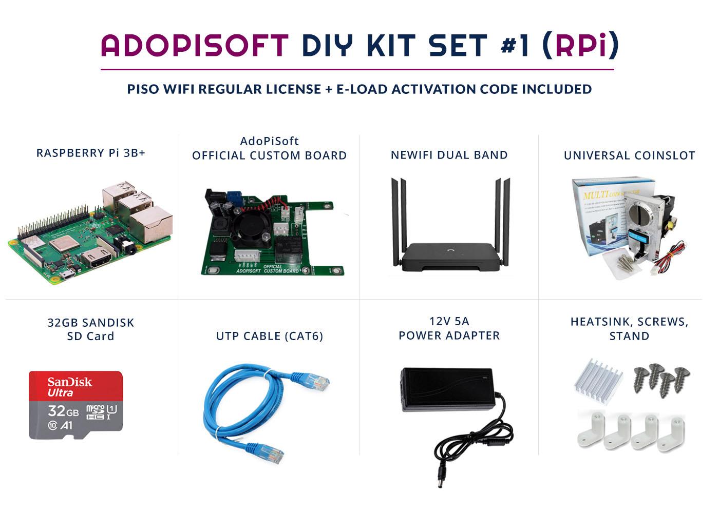 piso wifi rpi kit