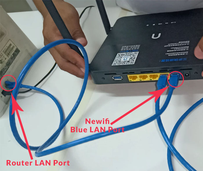 utp cable for router and newifi
